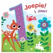 wenskaart JOEPIE! 1 jaar!