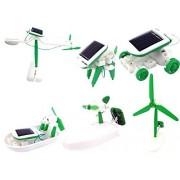 kidsgenie Educational 6 in 1 Solar Power Energy Robot Toy Kit