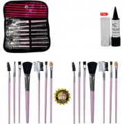 Adbeni Imported 7 in 1 Stylish Wallet Makeup Brush Buy 1 Get 1 Same Free Kajal