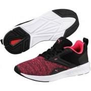 Puma ženske tenisice za trčanje Nrgy Comet Black Paradise Pink, 39, crna/bijela/roza
