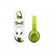 Audífonos Bluetooth Manos Libres, P47 Audífonos Diadema Bluetooth Inalámbricos Estéreo Plegables Auriculares Con Micrófono Con Soporte De Micrófono TF Tarjeta De Radio FM (verde)