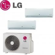 LG Climatizzatore Condizionatore Lg Dual Split Inverter Standard 12000+12000 Con Mu2m17 Ul3