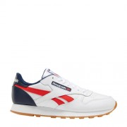 Reebok Classics Classic Leather sneakers wit/rood/blauw