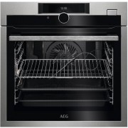 AEG BSE882320M Single Built In Electric Oven - Stainless Steel