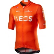 Castelli INEOS Competizione Fietsshirt Heren - Oranje - Maat S