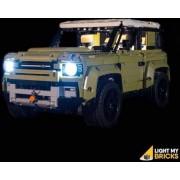 Light My Bricks LEGO Land Rover Defender 42110 Verlichtings Set