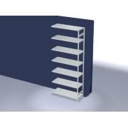 Discountoffice Systeemstelling Aanbouwveld HxBxD 3000x1310x535mm Vakl. 230kg