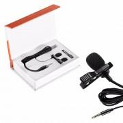 Neewer 3.5mm revers microfoon clip-op omnidirectionele condensator microfoon voor apple iphone 7 plus 6 s 6 5 s 5, ipad, iPod Touch
