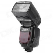 Triopo TR-960III 2.2'' LCD de 2?4 GHz Wireless 1000lm 5500K flash Speedlite Sony - Negro