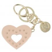 Kulcstartó LIU JO - Key Ring Heart N67109 A0001 Meg Rose 41506