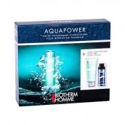 Biotherm Homme Aquapower Oligo Thermal Care confezione regalo 75 ml Homme Aquapower Oligo Thermal cura Moisturizing + 50 ml schiuma da barba+ 75 ml Aquapower doccia gel