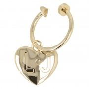 Kulcstartó LIU JO - Loto Key Ring A17157 A0001 Light Gold 90048