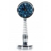 Geen Bewegende spiraal klok blauw - Action products