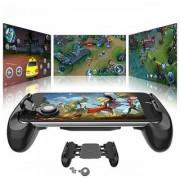 Tech Gear Phone Handle Extender Grip Fire Aim Button Trigger Shooter Controller for PUBG Game Mobile Gaming Joystick