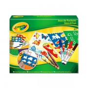 Crayola Sablon készlet kiegészítőkkel