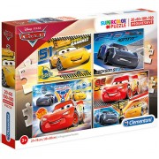 Puzzle Cars 3 4 in 1 Clementoni 360 piese