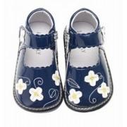 Jack&Lily Kék lakk virágos szandál 19-es