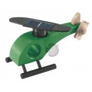 Elicopter solar lemn verde