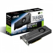 Placa Video Asus Nvidia GeForce GTX1070 Turbo 8GB GDDR5