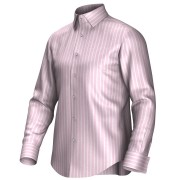 Maatoverhemd roze/wit 54404