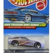 1999 Hot Wheels Treasure Hunt 97 Corvette Light Purple #931