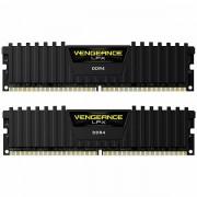 CORSAIR Vengeance LPX 16GB 2x8GB DDR4 DRAM 2400MHz C16 Memory Kit - Black CMK16GX4M2A2400C16