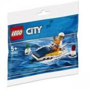 Конструктор Лего Сити, LEGO City - Състезателна лодка, 30363