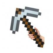 Minecraft Pick Axe Foam Weapon Action Figure Accessory, Grey