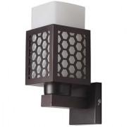 LeArc Designer Lighting Contemporary Glass Metal Wood Wall Light WL1933