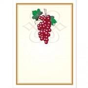 Vinetiketter , Röda vindruvor som motiv, nr 4 24 st.,