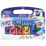 Play-Doh, Set Doh-Vinci Deco Pop - Culori cu sclipici