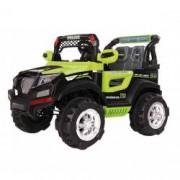Masinuta electrica pentru copii Saint Toys SUV electric cu telecomanda Police verde