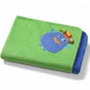 Бебешка микрофибърна пелена - Чудовище, 1401 04 Babyono, 0230009