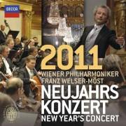 Franz Welser-Most, Wiener Philarmoniker - New Year's Concert 2011 (0028947826019) (2 CD)