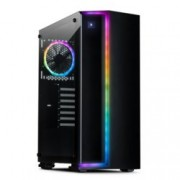 Кутия InterTech S-3906 Renegade, ATX/micro ATX/ITX, USB 3.0, черна, без захранване