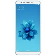 "Telefon Mobil Xiaomi Mi A2, Procesor Octa-Core 2.2GHz/1.8GHz, LTPS IPS LCD Capacitive touchscreen 5.99"", 6GB RAM, 128GB Flash, Camera Duala 12+20MP, Wi-Fi, 4G, Dual Sim, Android (Albastru) + Cartela SIM Orange PrePay, 6 euro credit, 6 GB internet 4G, 2,00"