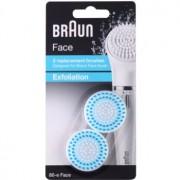 Braun Face 80-e Exfoliation cabeça refill 2 pçs 2 un.
