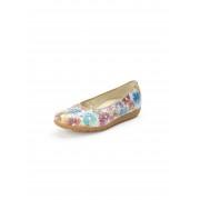 Waldläufer Ballerinaskor Hadya i 100% skinn från Waldläufer vit