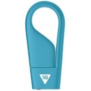 Stick USB Emtec ECMMD16GD202, 16 GB, USB 2.0 (Albastru)
