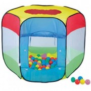 Cort de Joaca Pentru Copii cu 100 Bile Happy Children - Bendix