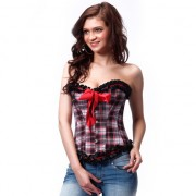 INTIMAX CORSET ESTILO ESCOCES XXL