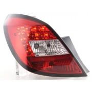 FK-Automotive fanali posteriori LED Opel Corsa D 5 porte anno di costr. 06-10, rosso/chiaro