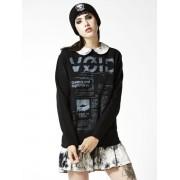 pulóver (kapucni nélkül) női unisex - Void - DISTURBIA - DIS502