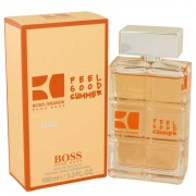 Hugo Boss Orange Feel Good Summer Eau De Toilette Spray 3.3 oz / 97.59 mL Men's Fragrances 537207