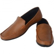 Aaiken Men's Brown Casual Loafers