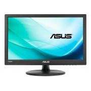 "Monitor ASUS VT168H, 15.6"", FWXGA, Touchscreen, 10 ms, HDMI, USB, Negru"