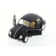 1967 Volkswagen Classic Beetle, Black - Kinsmart 5057DM - 1/32 Scale Diecast Model Toy Car