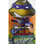 Teenage Mutant Ninja Turtles Figure & Bike: DONATELLO (Biker Don) Extreme BMX Bike riding turtle.