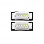 Pack LED plaque immatriculation AUDI TT 8N 99-06