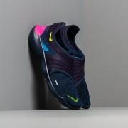 Nike Free Run Flyknit 3.0 Midnight Navy/ Volt-Blue Hero